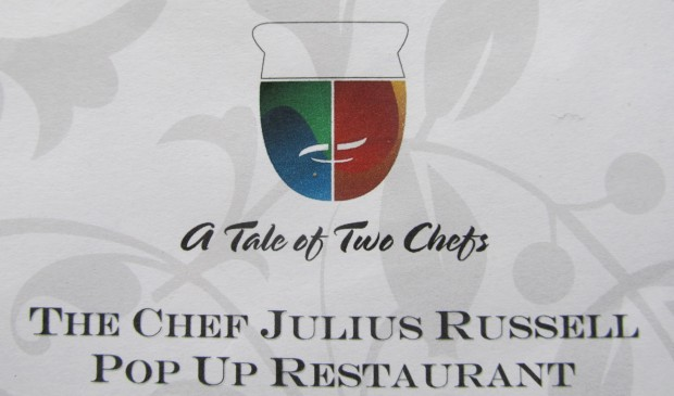 Tale of Two Chefs - The Chef Julius Russell Pop Up Restaurant