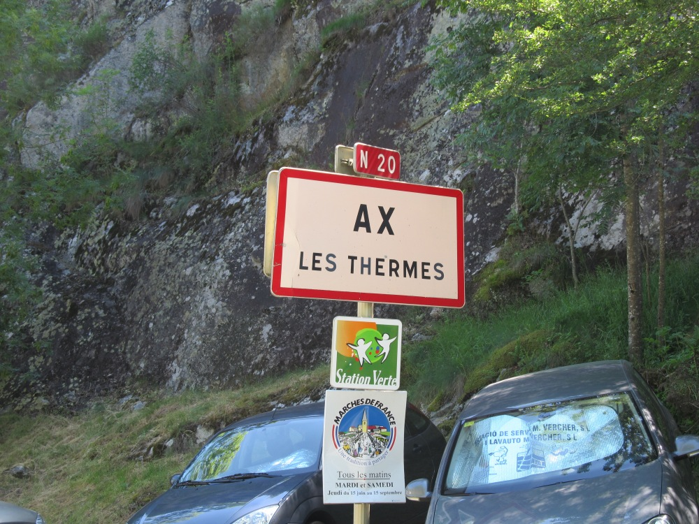 Ax les Thermes, the French Pyrenees town where Stage 8 of the 2013 Tour de France would finish