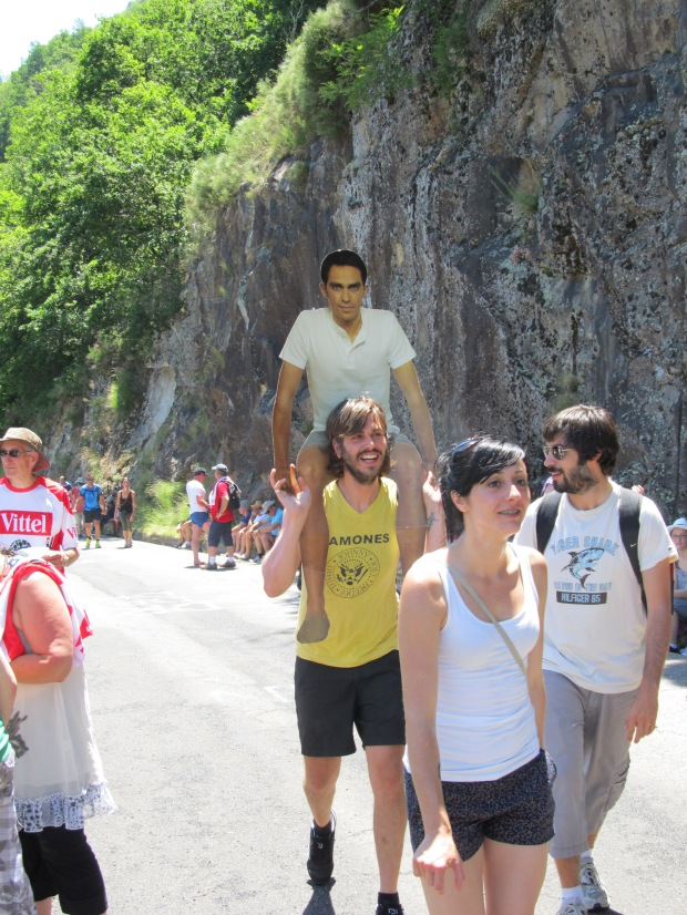 Obviously a Contador fan