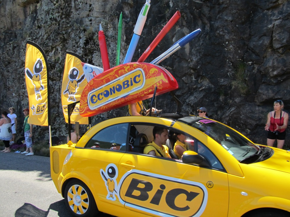 And even Bic pens.