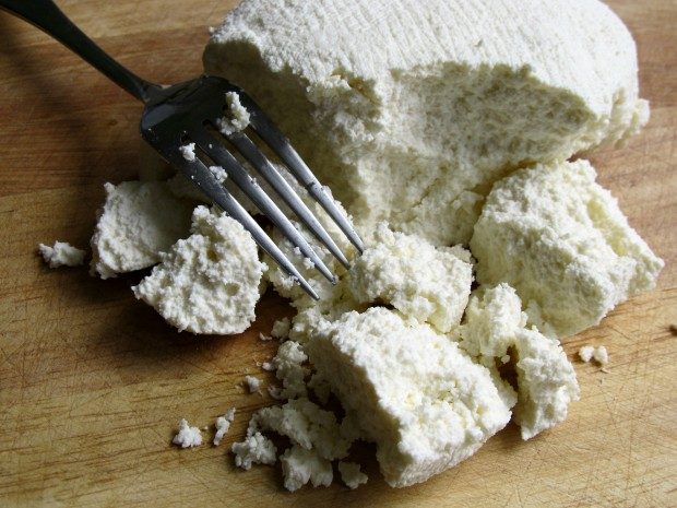 Homemaed Ricotta Cheese