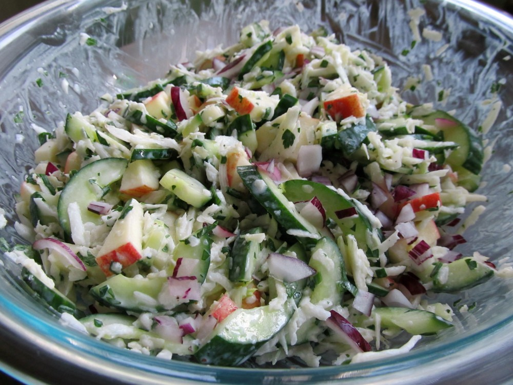Cucumber Fennel Salad