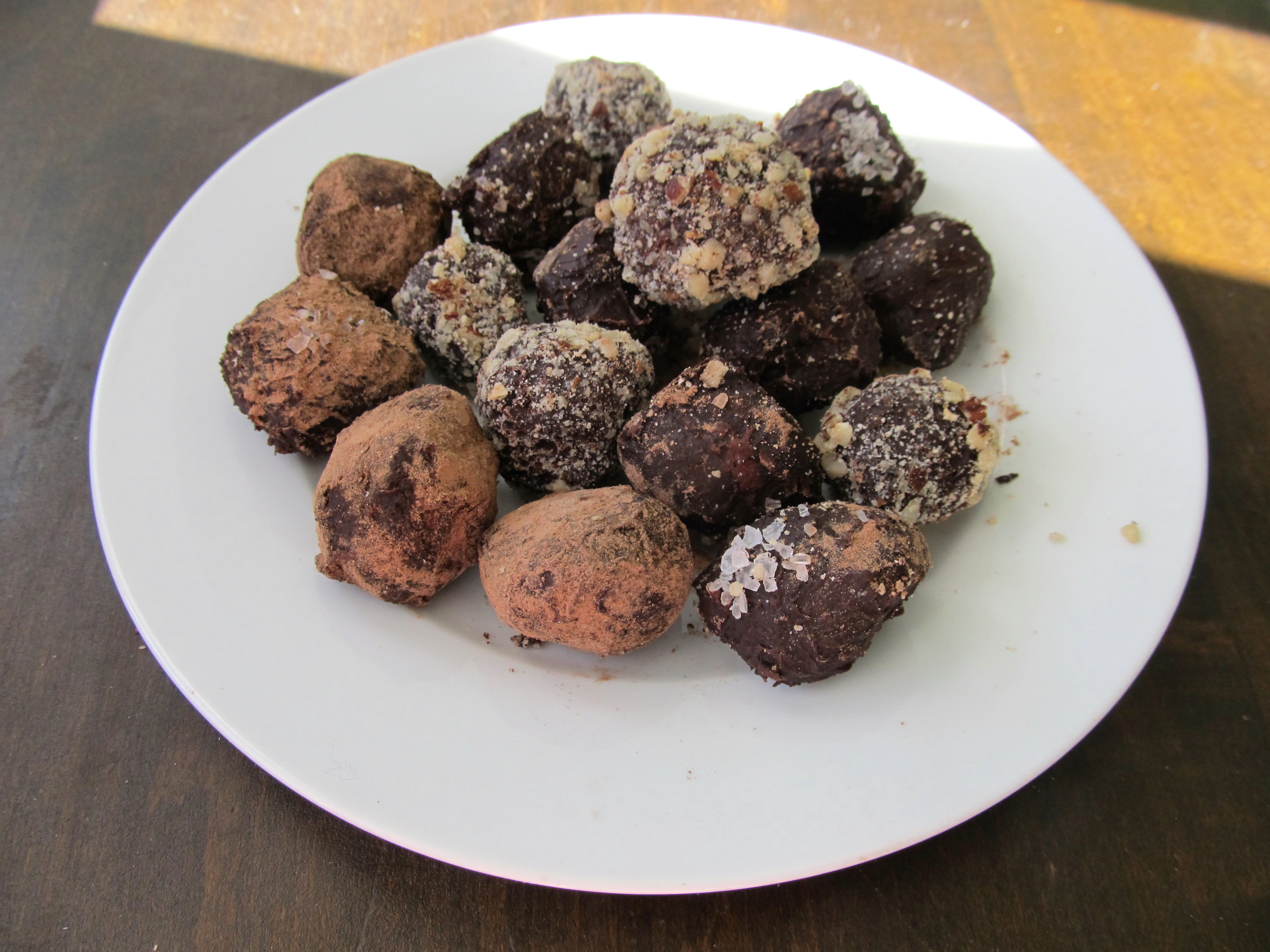 how to make cocolate truffles