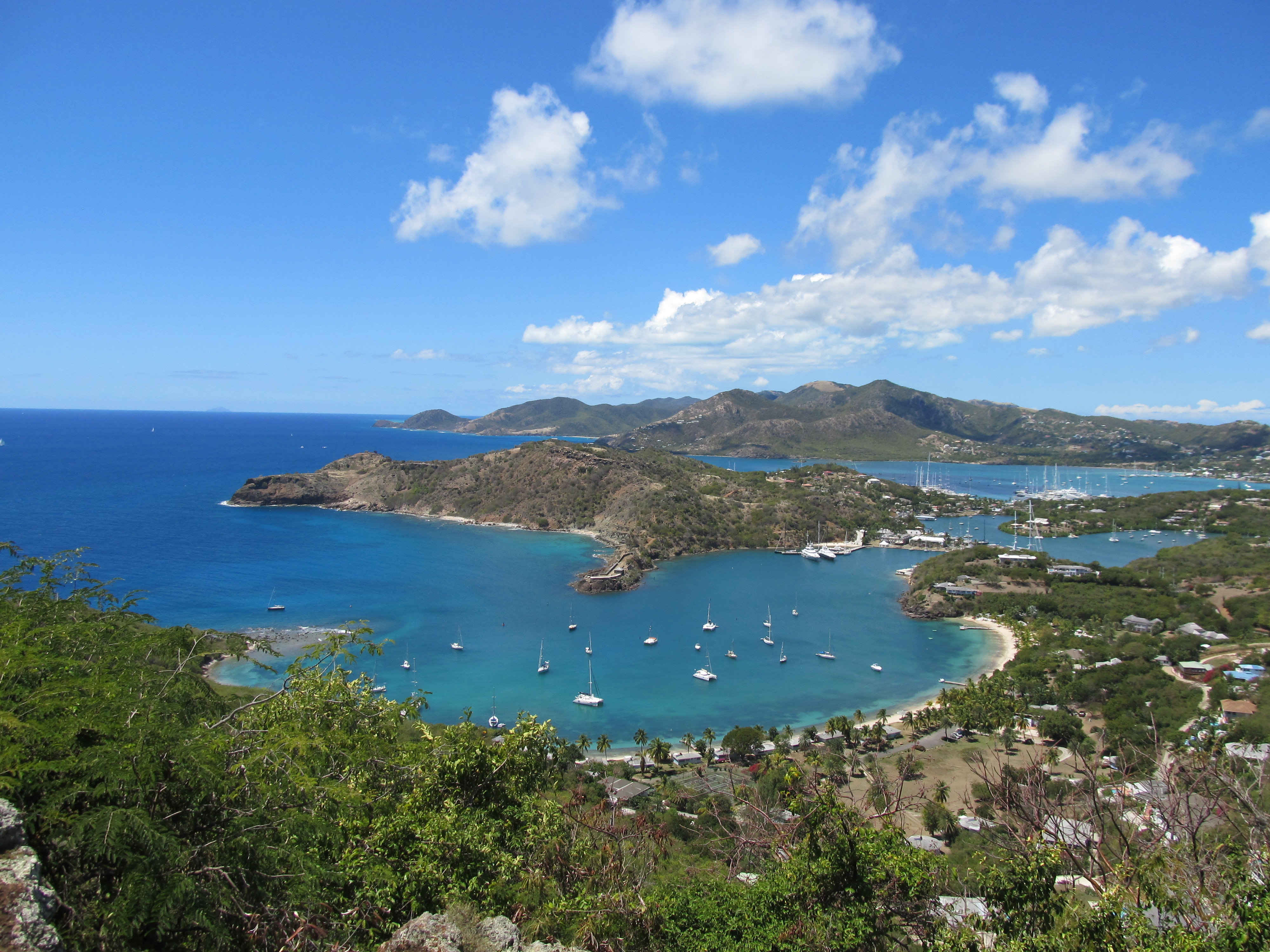 English Harbour Antigua A Vacation Of Sun Sand And