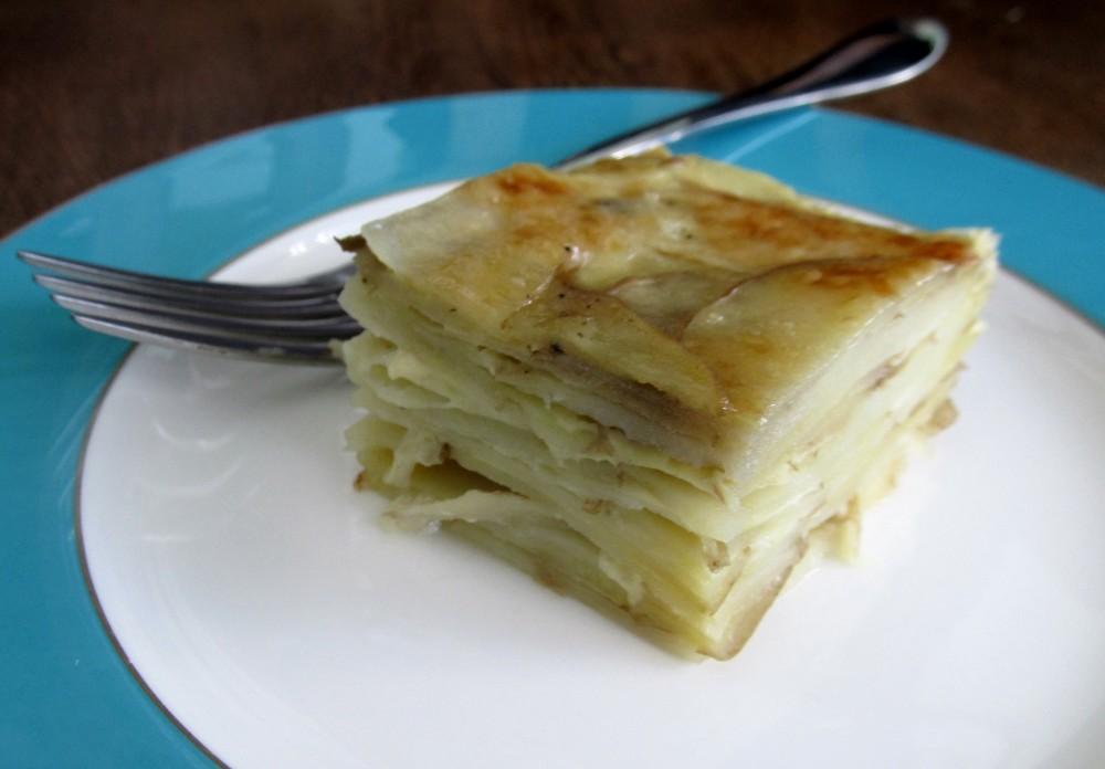 Potatoes dauphinoise