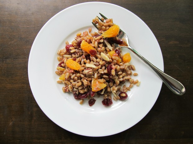 Cranberry Orange Farro Salad