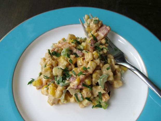 elotes summer corn salad