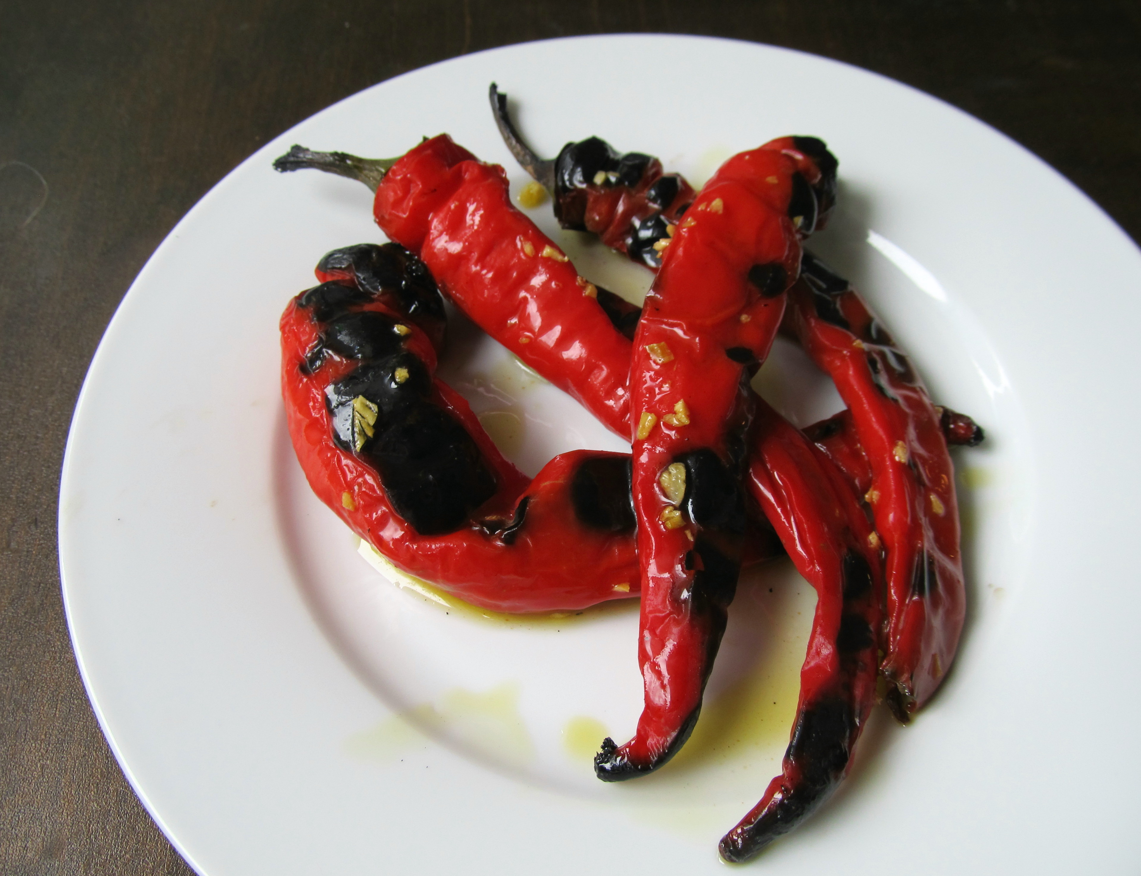 Grilled Jimmy Nardello Italian Peppers | The Roaming GastroGnome