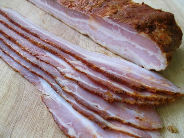 Cajun bacon
