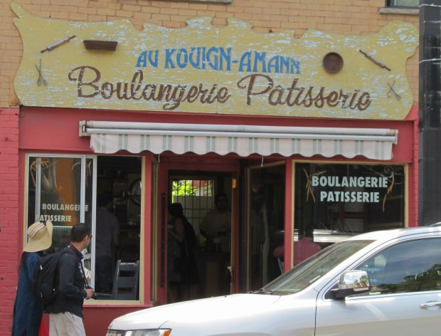 This boulangerie was a great way to start our days...