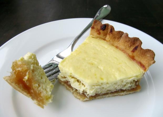 Lemon Ricotta Cheese tart