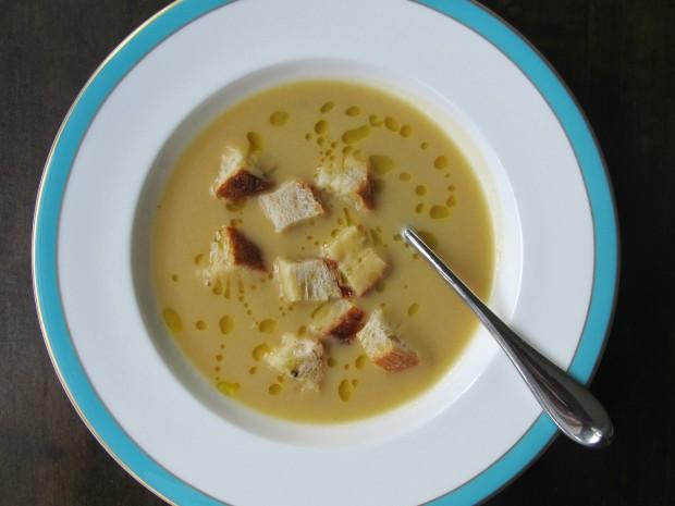 Vellutata de ceci - Chick pea soup