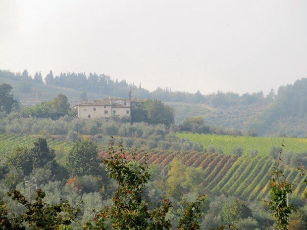 From Montefioralle, above Greve.