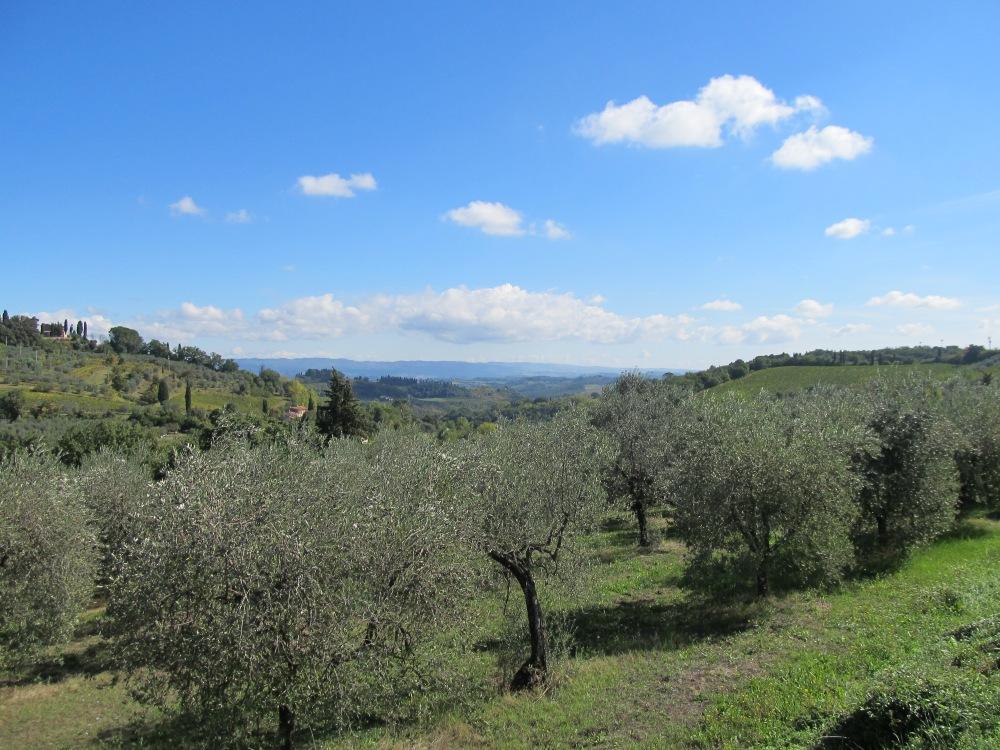 Via Francigena - San Gimignano