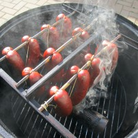 Cold smoking for some flavor