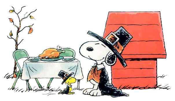 Snoopy_Woodstock_Thanksgiving_Dinner