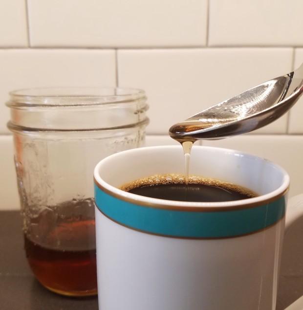 hazelnut-syrup for coffee