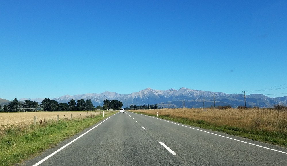 Alpine Highway SH73 NZ