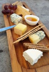Probably the best cheese board we had on the trip
